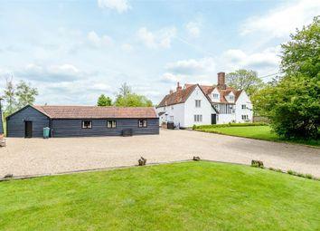 Thumbnail Detached house for sale in Pledgdon Green, Henham, Bishop's Stortford, Essex