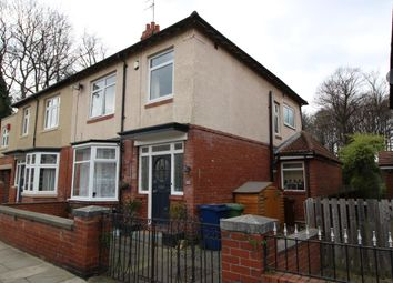 Thumbnail 3 bedroom semi-detached house to rent in Rosebery Crescent, Jesmond, Newcastle Upon Tyne