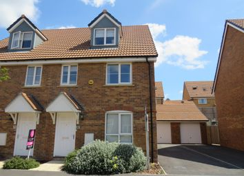Thumbnail 4 bedroom semi-detached house for sale in Raven Road, Didcot