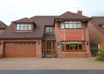 Thumbnail 5 bedroom detached house for sale in Stone Cross Drive, Widnes