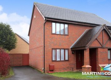 Thumbnail 2 bed semi-detached house for sale in Patricia Drive, Tipton