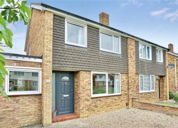 Thumbnail 3 bed semi-detached house for sale in Rampley Close, Little Paxton, St. Neots, Cambridgeshire