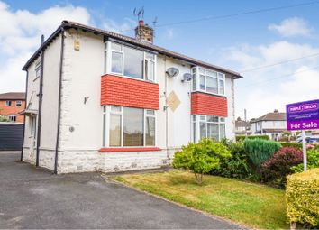 Thumbnail 2 bed semi-detached house for sale in Moorland Crescent, Pudsey