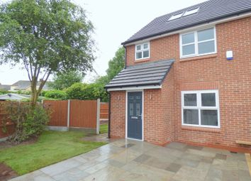 Thumbnail 4 bed semi-detached house for sale in Forbes Close, Offerton, Stockport