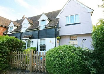 Thumbnail 2 bed terraced house for sale in Cage End, Hatfield Broad Oak, Bishop's Stortford, Herts