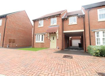 Thumbnail 3 bed semi-detached house for sale in Red Cross Way, Weddington, Nuneaton, Warwickshire