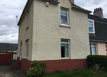 Thumbnail 2 bed end terrace house to rent in Crusader Avenue, Knightswood, Glasgow