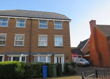 Thumbnail 4 bed town house for sale in Bergamot Close, Sittingbourne
