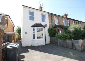 Thumbnail 3 bed semi-detached house for sale in Milton Road, Egham, Surrey