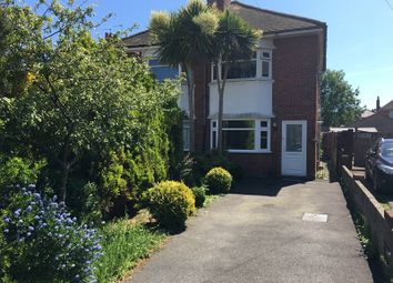 Thumbnail 3 bed semi-detached house for sale in Glenville Road, Ensbury Park, Bournemouth