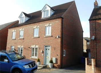 Thumbnail 4 bed semi-detached house for sale in Kensington Way, Worksop, Nottinghamshire