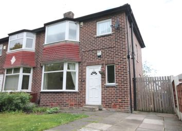 Thumbnail 3 bedroom semi-detached house to rent in Lancaster Road, Salford