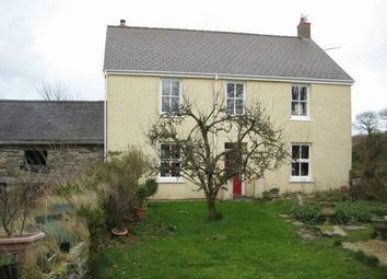 Thumbnail 6 bed detached house for sale in Bridell, Cardigan