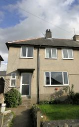 Thumbnail 3 bedroom semi-detached house for sale in Godre'r Gaer, Llwyngwril