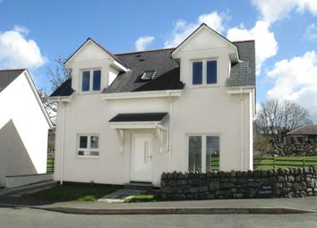 Thumbnail 3 bed detached house for sale in Pentre Berw, Gaerwen, Anglesey