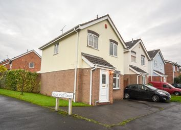 Thumbnail 3 bed detached house for sale in Somerset Drive, Glenfield, Leicester