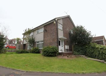 Thumbnail 3 bed semi-detached house for sale in Sandringham Close, Barry