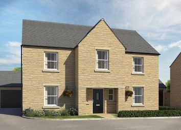 """Thumbnail 4 bed detached house for sale in """"Winstone"""" at Popes Piece, Burford Road, Witney"""