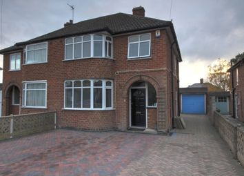 Thumbnail 3 bed semi-detached house for sale in Shardlow Road, Wigston