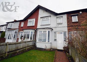 Thumbnail 3 bedroom terraced house for sale in Marsh Lane, Erdington, Birmingham
