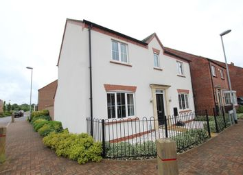 Thumbnail 4 bed detached house for sale in Stadium Lane, Hinckley