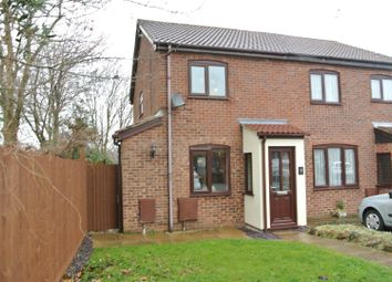 Thumbnail 3 bed town house for sale in Blenheim Close, Wigston