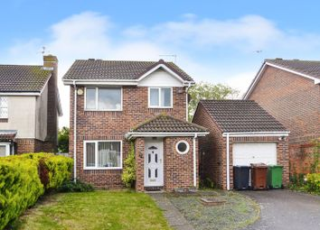 Thumbnail 3 bed detached house for sale in Hambleton Close, Eastbourne