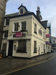 Thumbnail Commercial property for sale in Former Hop N Vine, 3 & 4 Market Street, St Austell, Cornwall