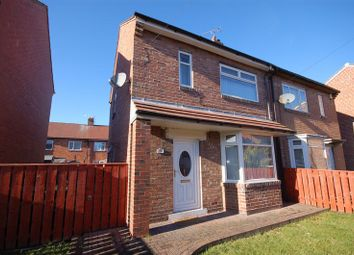 Thumbnail 2 bedroom semi-detached house for sale in Oswin Road, Forest Hall, Newcastle Upon Tyne