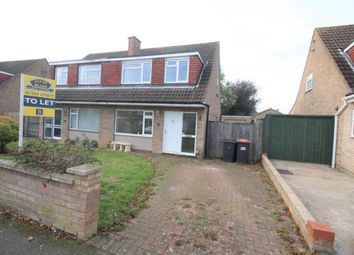 Thumbnail 3 bed semi-detached house to rent in Harrington Drive, Bedford