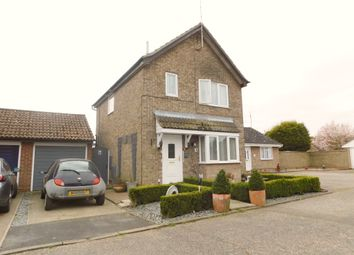 Thumbnail 3 bed detached house for sale in Heath Court, Trimley St Martin