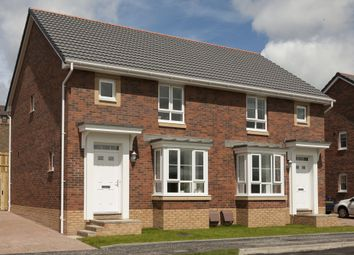 "Thumbnail 3 bed semi-detached house for sale in ""Edzell"" at Ravenscliff Road, Motherwell"