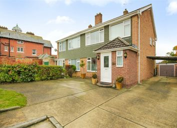 Thumbnail 3 bed semi-detached house for sale in Shrubland Court, Clacton-On-Sea