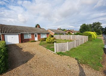 Thumbnail 3 bed detached bungalow for sale in Rectory Road, Tivetshall St. Mary, Norwich