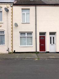 Thumbnail 2 bed terraced house for sale in Zetland Street, Darlington