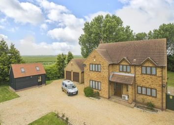 Thumbnail 4 bed detached house for sale in Holme Road, Ramsey St Marys, Huntingdon, Cambridge