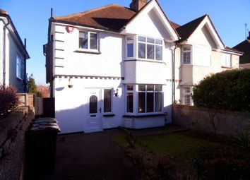 Thumbnail 3 bed semi-detached house to rent in Victoria Drive, Eastbourne