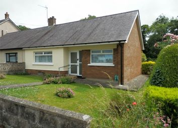 Thumbnail 2 bed semi-detached bungalow for sale in Cylch Peris, Llanon
