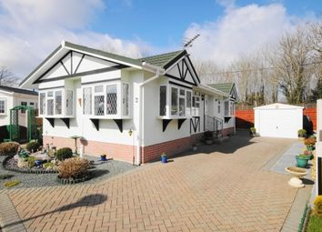 Thumbnail 2 bed mobile/park home for sale in Stour Park, New Road, Bournemouth, Dorset