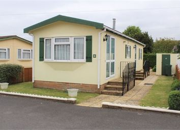 Thumbnail 2 bed mobile/park home for sale in Hill View Park Homes, Locking Road, Weston-Super-Mare, North Somerset.