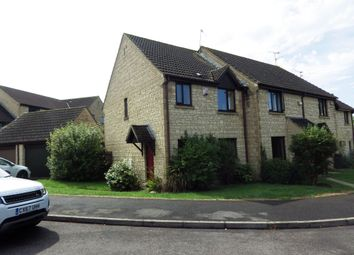 Thumbnail 3 bed semi-detached house to rent in Hanstone Close, Cirencester