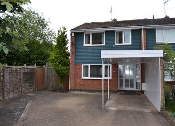 Thumbnail 3 bedroom end terrace house for sale in Ballingham Close, Tile Hill, Coventry, West Midlands