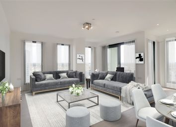 Thumbnail 3 bed flat for sale in Legacy Tower, 88 Great Eastern Road, London