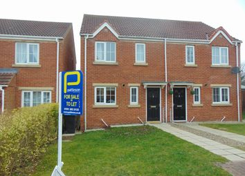Thumbnail 3 bed semi-detached house to rent in Charlton Court, Bowburn, Durham
