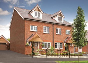 "Thumbnail 4 bed semi-detached house for sale in ""Kenilworth"" at Halling, Rochester"