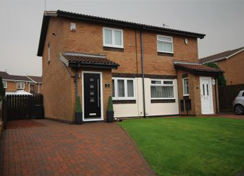 Thumbnail 2 bed semi-detached house to rent in Alderley Close, The Cotswolds, Boldon Colliery
