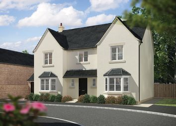 "Thumbnail 4 bed detached house for sale in ""The Knowsley "" at Fogwell Road, Botley, Oxford"