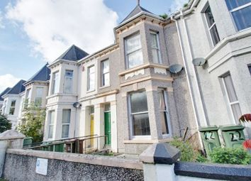 Thumbnail 4 bed terraced house for sale in Gifford Terrace Road, Mutley, Plymouth
