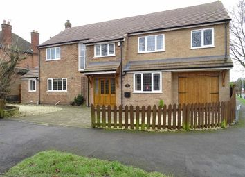 Thumbnail 5 bed detached house for sale in Greenmoor Road, Burbage, Hinckley