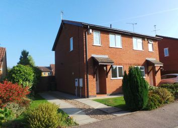 Thumbnail 2 bed semi-detached house to rent in Pickering Road, Broughton Astley, Leicester